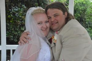 Mekayal & Aubrey Whitt were married at Wedding Chapel by the Sea.