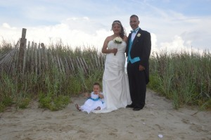 Tonya & Charles Goins were married at Wedding Chapel by the Sea in Myrtle Beach, SC.