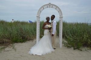 Tashara & AJ Rhoe were married at Wedding Chapel by the Sea.
