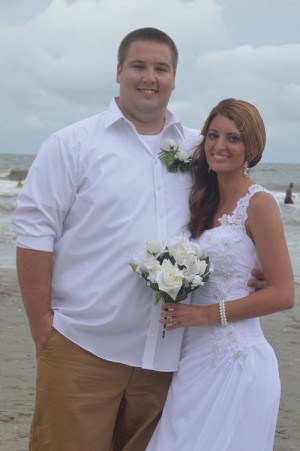 Alissa & Anthony McKinley were married in Myrtle Beach, SC at Wedding Chapel by the Sea.