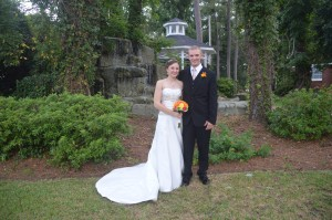 Caytlin Steil & Scott Shreve were married at Wedding Chapel by the Sea.