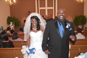 Sharonda & Walter Parham were married at Wedding Chapel by the Sea.