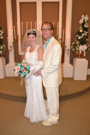 James & Jennifer Atz were married at Wedding Chapel by the Sea.
