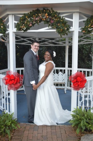 Amber & Joshua Joyce were married at Wedding Chapel by the Sea.