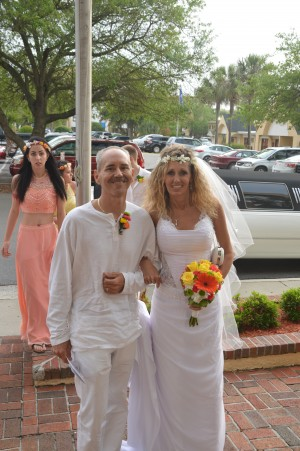 Kelly & randall Horne were married in Myrtle Beach, SC at Wedding Chapel by the Sea.