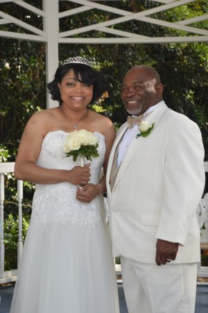 Stephanie & James Robinson were married in Myrtle Beach, SC at Wedding Chapel by the Sea.