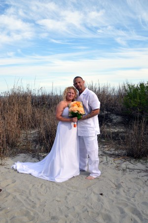 Shannon & Bryan Perdue were married in Myrtle Beach, SC at Wedding Chapel by the Sea.