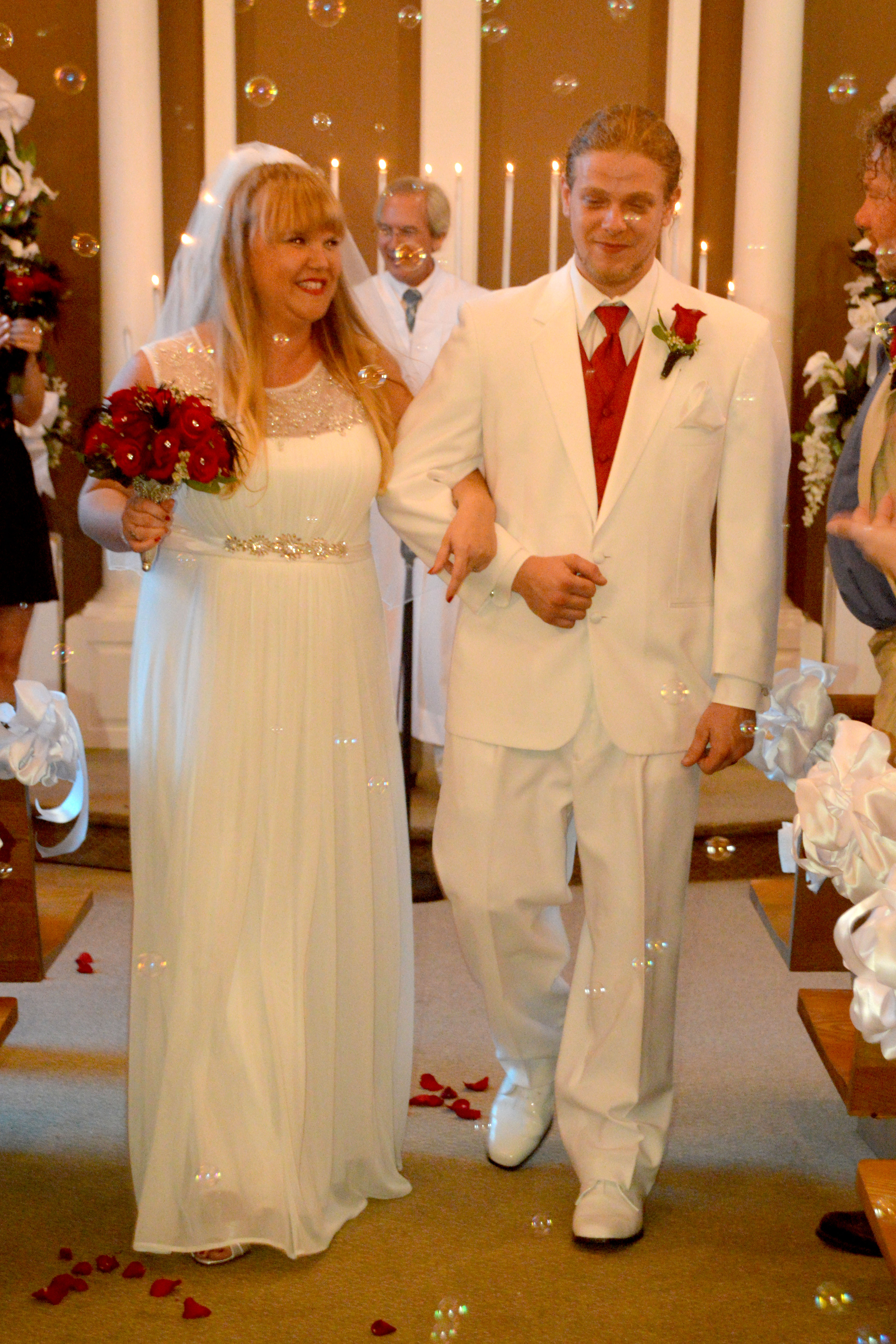 Desiree Green And Steven Fleckenstein Were United In Marriage On August 21 2015 The Chapel At Wedding By Sea South Carolina Rev