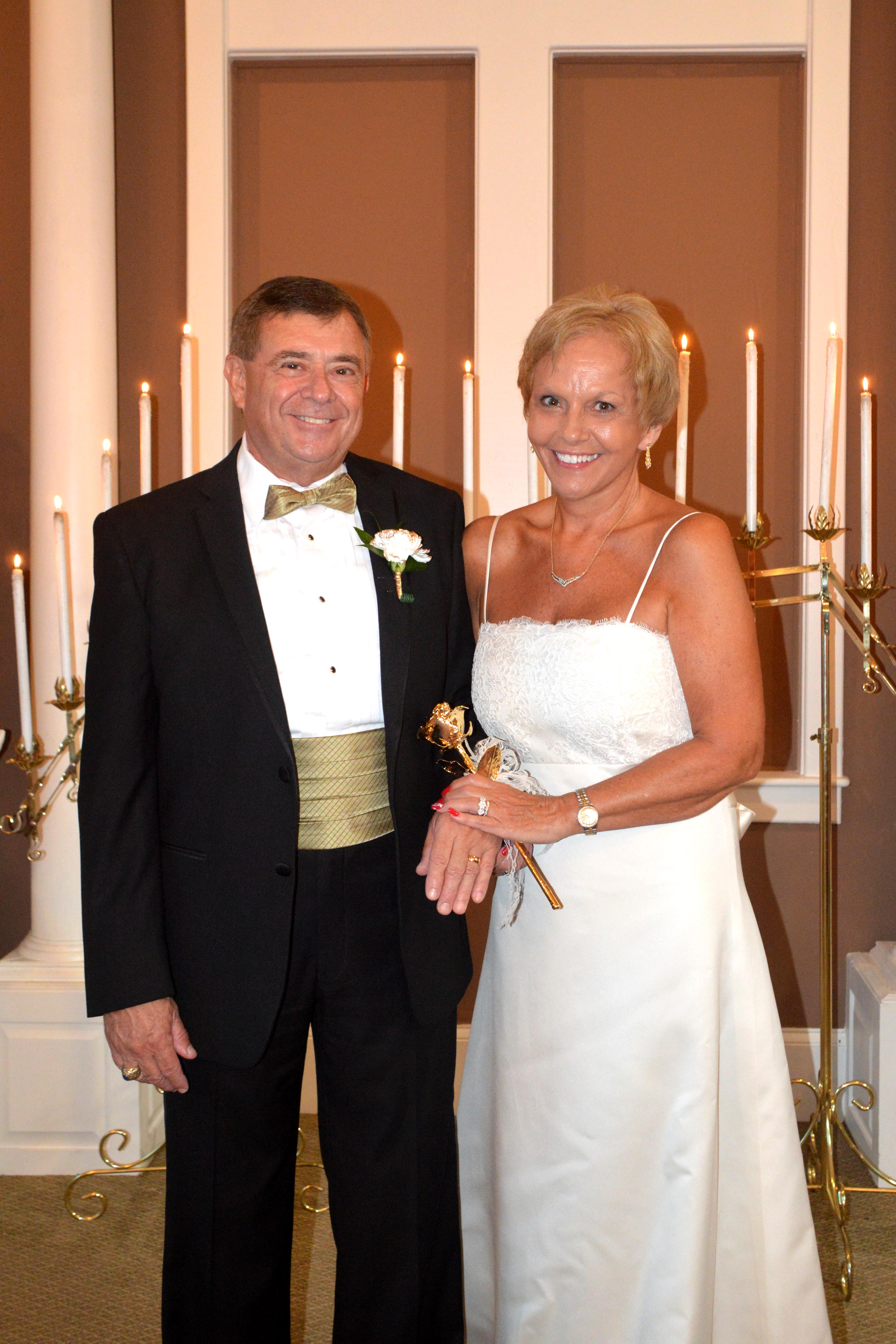 Carolyn Jean Watson And Stephen Donald Floyd Of Myrtle Beach SC Were United In Marriage On August 1 2015 The Chapel At Wedding By Sea